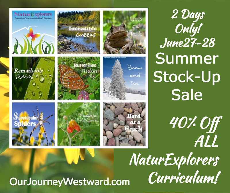 nature explorers curriculum sale